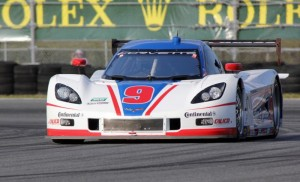 Will it be a former Daytona Prototype, such as the Corvette DP pictured here,  that will win the 2014 Rolex 24 at Daytona?  [Photo by Jack Webster]