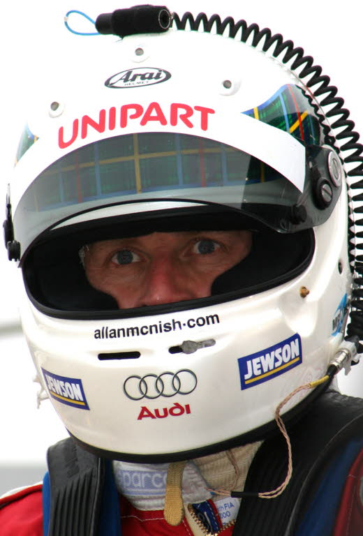 Allan McNish   [photo by Jack Webster]