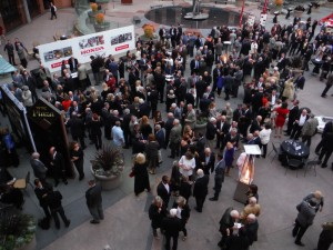 RRDC reception party honoring Mario Andretti.  [Eddie LePine photo]