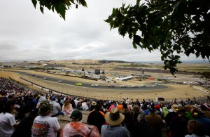 Action during the NASCAR Sprint Cup Series Toyota/Save Mart 350 at Sonoma Raceway last season. (Photo by Ezra Shaw/Getty Images)