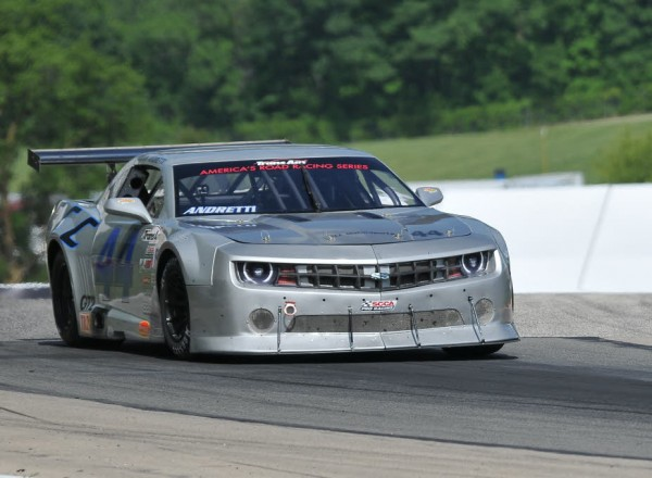 Rookie Adam Andretti in his Engineered Components Chevrolet Camaro.   [John Wiedemann Photo]