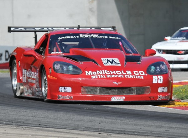 Amy Ruman was quickest overall in the morning Trans Am Series practice.  [John Wiedemann Photo]