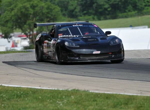 Rookie Jason Berkeley led his class in the BMG Management Chevrolet Corvette.  [John Wiedemann Photo]