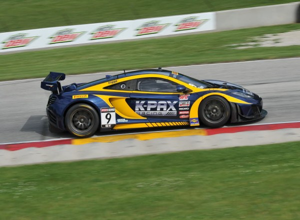 Alex Figge in the K-PAX Racing McLaren 12C.  [John Wiedemann Photo]