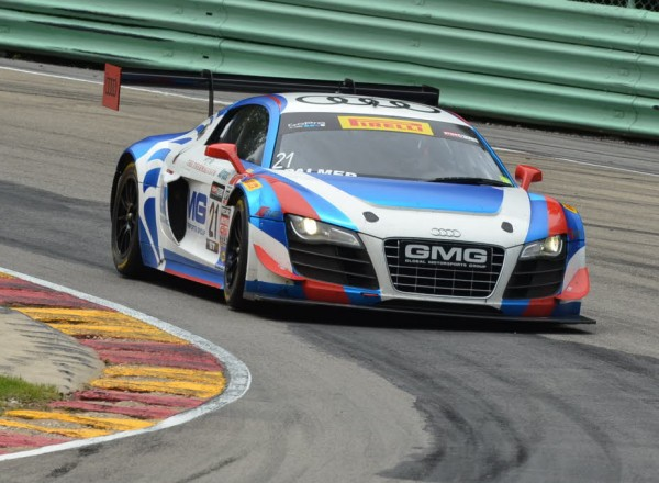 Andrew Palmer in his GMG Racing Audi R8 Ultra  [John Wiedemann Photo]