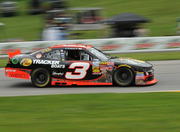 Ty Dillon in the Bass Pro Shops Richard Childress Racing #3 at Road America.  [John Wiedemann Photo]