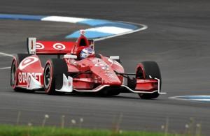 Scott Dixon, driving the Target Ganassi #9 IndyCar.  [John Wiedemann Photo]