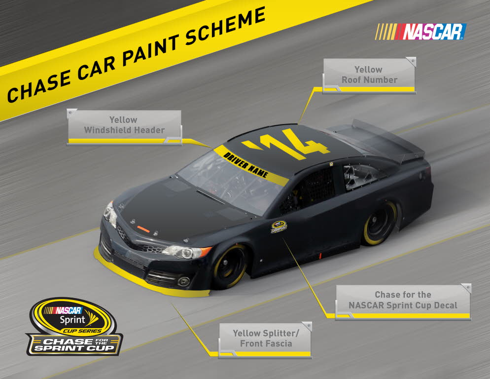 Special Paint Scheme For Chase Contenders - RacingNation.com