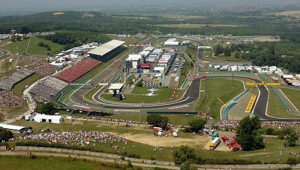 The twisty and more than average temperature of the Hungaroring near Budapest, is still one of the old tracks from Eastern Europe that has been in existence since the days of the Iron Bloc time.   [Photo courtesy of mclaren.com]