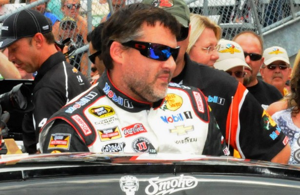 Tony Stewart will miss the Cheez-It 355 at the Glen NASCAR Sprint Cup Series race.  [Father Dale Grubba photo]