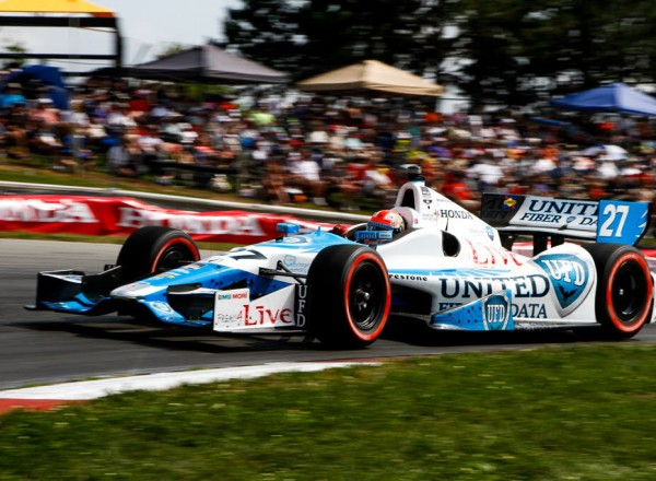 James Hinchcliffe.  [Andy Clary Photo]