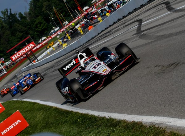 Will Power finished sixth and took over the series point lead.  [Andy Clary Photo]