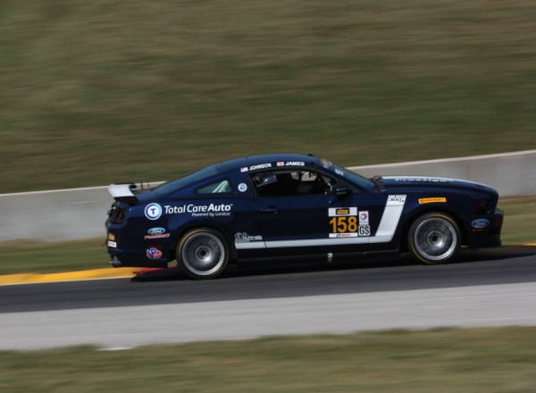 Ian James and Billy Johnson qualified second in their Mustang Boss 302R.  [Mark Walczak Photo]