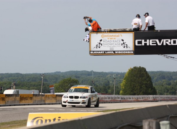 Terry Borcheller wins the Street Tuner class at Road America.  [Mark Walczak Photo]