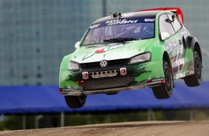 Scott Speed won the first two races of the 2014 GRC season.  [credit Alison Padron/Red Bull Content Pool]