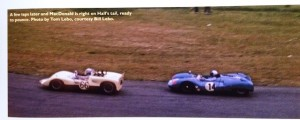 Dave MacDonald won his last race at the USRRC event at Pacific Raceways on May 10th, 1964. Sadly, MacDonald was killed at Indianapolis a little over two weeks later.