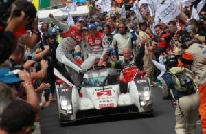 Le Mans victory for Audi 2014  [Photo by Audi Motorsport]