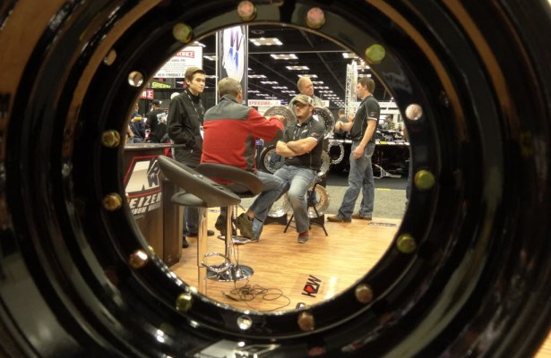 Motorsports business gets done at the PRI show in Indianapolis.  [Paul Gohde Photo]