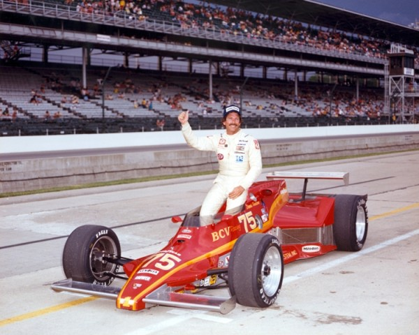 "Dennis Firestone qualified for the 1982 ""500"" in an 1981 Eagle which was powered by stock-block Milodon engine wrenched by Hall of Fame hot rodder, John Buttera.  Unfortunately the car only lasted 37-laps due to rear end issues. Photo courtesy of the Indianapolis Motor Speedway"