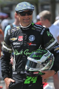 Townsend Bell, ready for hte 2015 Indianapolis 500.  [John Wiedemann Photo]
