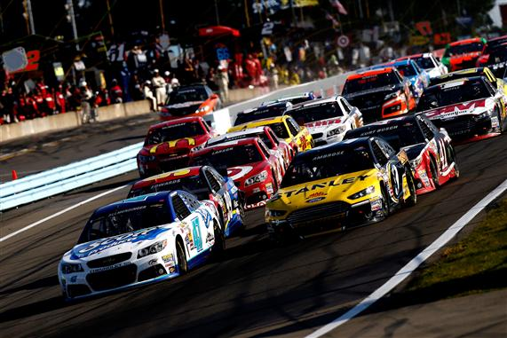 AJ Allmendinger won last years Cheez-It 355 at Watkins Glen to capture a spot in the Chase. [Jeff Zelevansky/Getty Images]