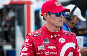 Scott Dixon put himself as the man to beat after setting a track record in qualifying at Mid-Ohio. [Andy Clary Photo]