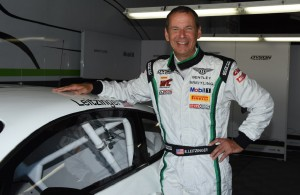Butch Leitzinger all smiles as he enjoys his time racing a Bentley Continental GT3. [Joe Jennings Photo]