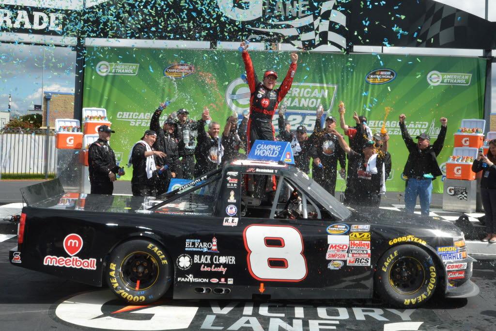 John Hunter Nemechek Nabs First Truck Series Win - RacingNation.com