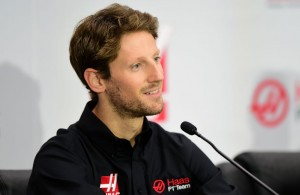 Haas F1 Team announces Romain Grosjean as their driver for the upcoming 2016 Formula 1 season. (Photo by Jared C. Tilton/Stewart-Haas Racing via Getty Images)