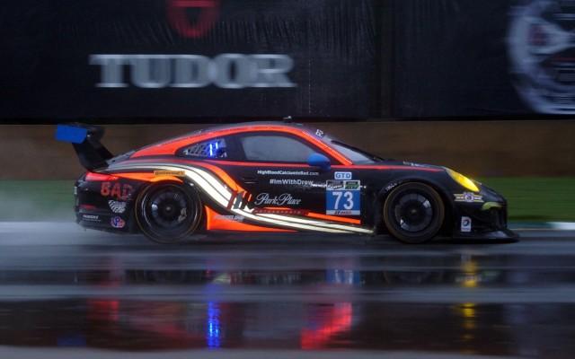 GTD Class winning Porsche 911 GT America.  [Photo by Jack Webster]