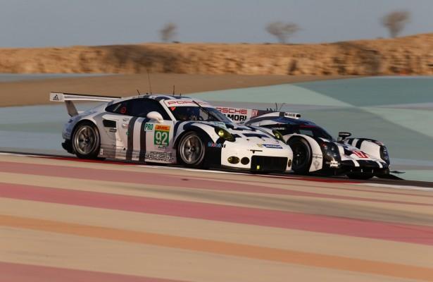 [photos by Porsche Motorsport]