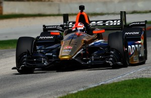 James Hinchcliffe at Road America. [John Wiedemann Photo]