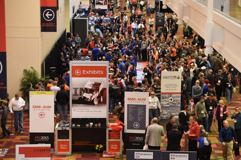 The 2015 Performance Racing Industry Trade Show at the Indiana Convention Center in Indianapolis. [Chris Owens 2015-IMS Photo]