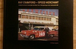 The book, Ray Crawford – Speed Merchant is written by Andrew Layton who is an author of three previous books on military topics and is himself an Air Force veteran of the wars in Iraq and Afghanistan. He is also a life-long motorsports enthusiast. Layton holds degrees in English and Political Science. Photo courtesy of the author, Andrew Layton