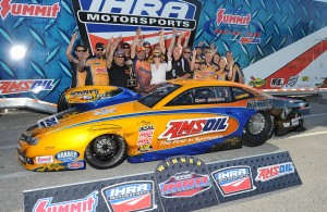 Cary Goforth claimed the Pro Stock win in the IHRA AMSOIL Nitro Nationals at Orlando Speed World Dragway. [Chris Simmons Photo]