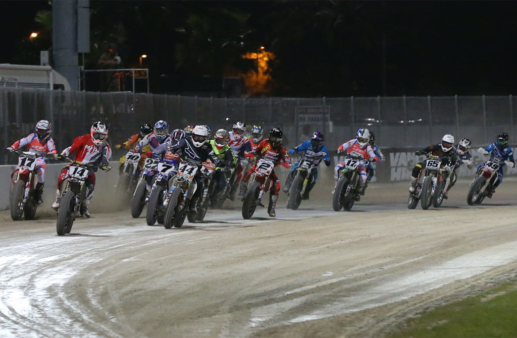 AMA Pro Flat Tack racing. [photo courtesy AMA Pro Racing]