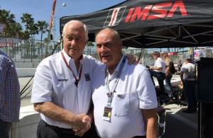Roger Penske and George Follmer. [Photo by Eddie LePine]