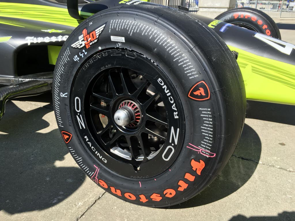 racing rubber refined for firestone s next indy 500 run. Black Bedroom Furniture Sets. Home Design Ideas