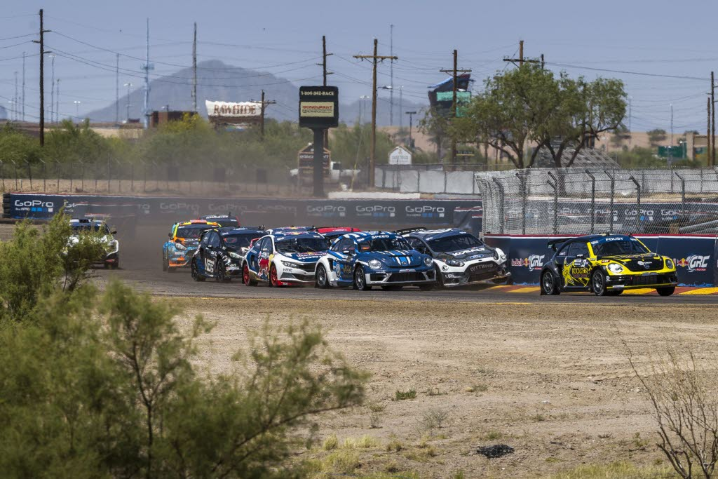 Round 1 of Red Bull Global Rallycross at Wild Horse Pass Motorsports Park in Phoenix, Arizona. [Garth Milan/Red Bull Content Pool]