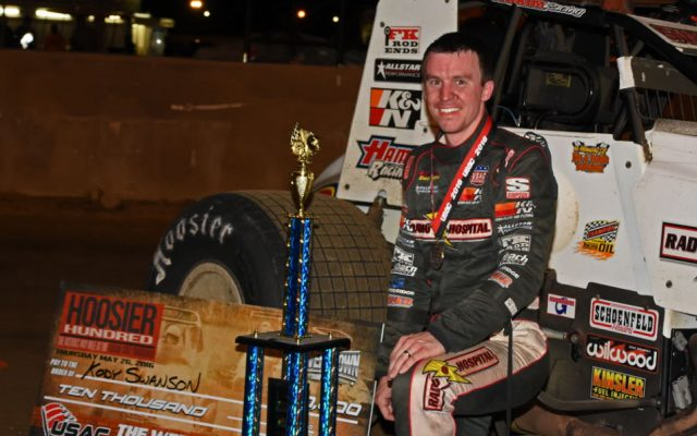 Winner Kody Swanson.  [Joe Jennings Photo]