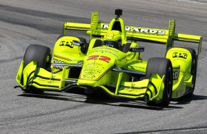 Simon Pagenaud was quickest in the opening practice session at Road America. [John Wiedemann Photo]