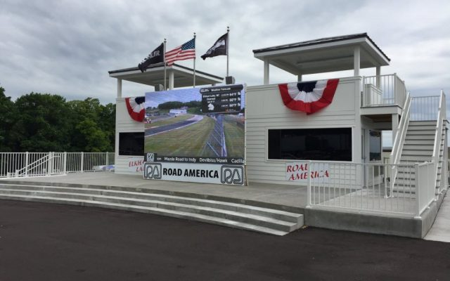 New victory lane at Road America.  [Eddie Le Pine photo]