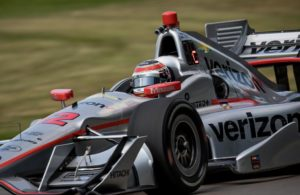 Will Power on practice day at Mid-Ohio. [Andy Clary Photo]