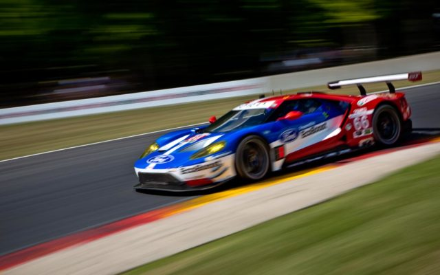 Dirk Mueller in the Ford GT bested the GTLM class with the fastest qualifying lap at Road America.  [Andy Clary Photo]