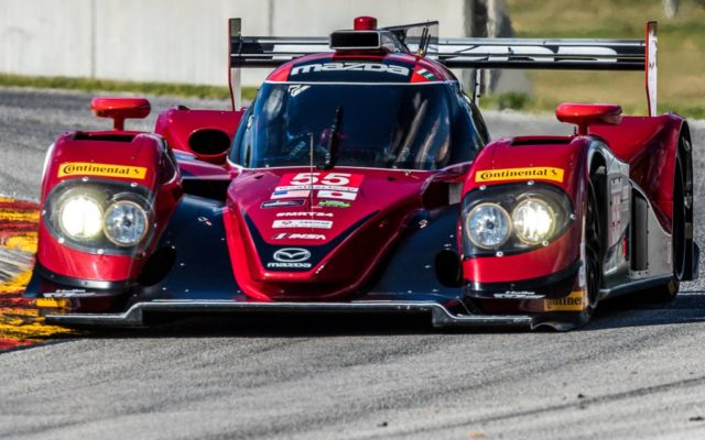 Jonathan Bomarito speeds through turn seven on his way to a track record at Road America.  [Andy Clary Photo]
