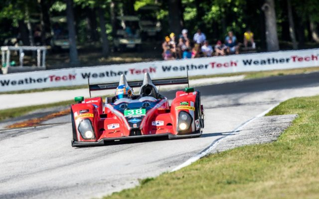 James French was quickest in the PC class at Road America, driving the Oreca FLM09.  [Andy Clary Photo]