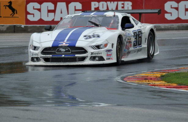 Cliff Ebben beat the field and the rain for his Trans Am Series win at Road America.  [John Wiedemann Photo]