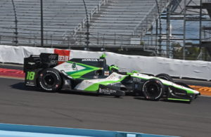 Conor Daly in action in the Dale Coyne Racing Honda. [Joe Jennings Photo]