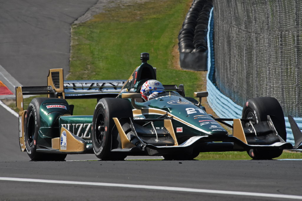 Josef Newgarden Races Toward Turn 9 At Watkins Glen International Joe Jennings Photo