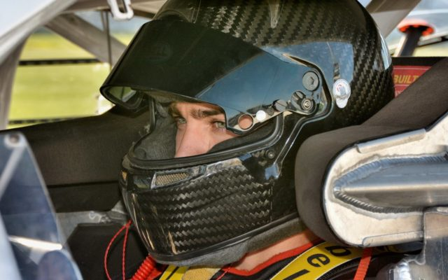 Ty Majeski focusing on qualifying.  [Kim Kemperman Photo]